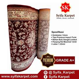Premium Karpet masjid import turky motif seperti masjid namira