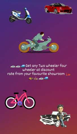 Buy any new bike at discount rate