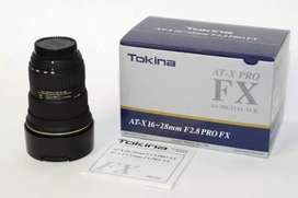 Tokina 16-28 F/2.8 Wide angle lens for canon (HnB Digital)