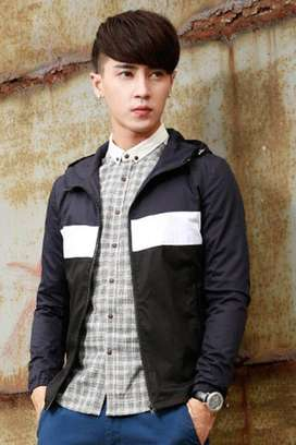 Jaket Hoodie Comby Parachute Style - SK88