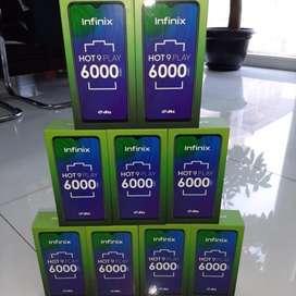 Ganteng Ga Perlu Mahal BARU INFINIX HOT 9 PLAY 4/64GB