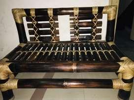 Environment friendly bamboo Mini-sofa