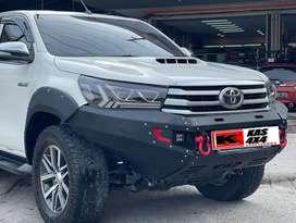 Bullbar bumper depan hilux revo 16 import