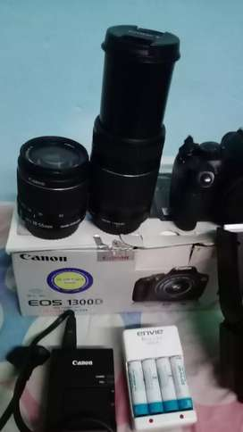 Canon 1300D for urgent sell 29500