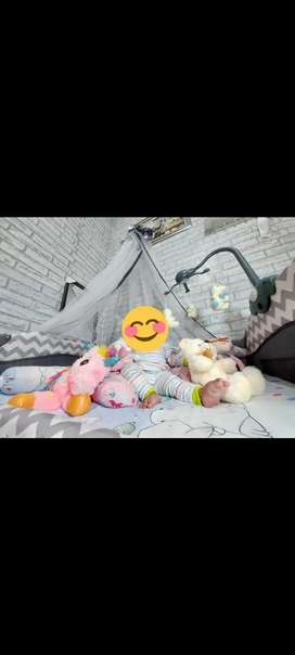 Baby Box Tempat Tidur bayi (PLIKO) + Kasur hanya 2 x dipakai