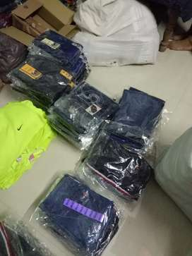 Pants lot available minimum order 50 piece Price 300/ only