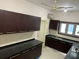 3 BHK semi furnished  gated community flat for rent lanco hills .