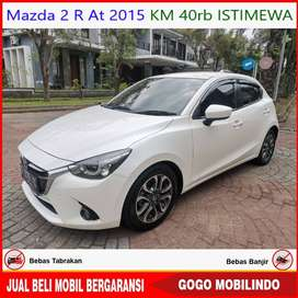 Mazda 2 R Matic 2015 KM 40rb ISTIMEWA Bisa Kredit