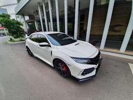 Honda Civic R 2018 white
