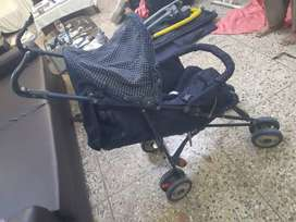 Baby Pram / Stroller. Good Condition. Imported.