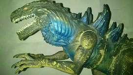 Mainan hobi Godzilla Rumble Roar Power Blast Electronic Action Figure