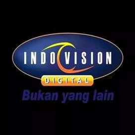 Parabola mini Indovision Mnc Vision spesial Banyumas murah meriah