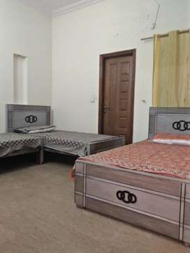 Furnished bedroom TV launch kichen and garage for rent available in jo