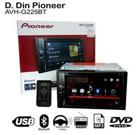 Ddin Dvd Usb BT Series G225BT, Garansi Resmi