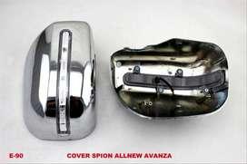 cover spion chrome lampu _ all new AVANZA _ kikim variasi paris
