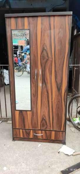 New Wooden almira 6.5×3 , 5.5 ×2.5