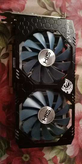 AMD Radeon Rx580 4GB DDR5 Best  for Gamer and Streamer non mining