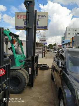 Forklift bergaransi
