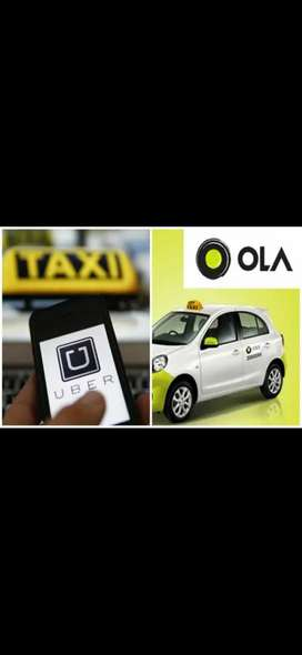 Driver requirement for ola and uber taxi