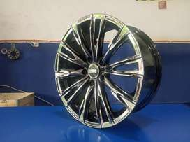 Velg racing import HSR Ring18 PCD5x114,3 for inova xpander alphard dll