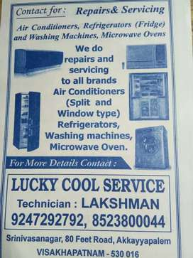 Lucky cool service