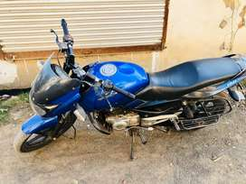 Pulsar 150 blue black colour