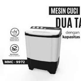 TERMURAH!!!  Mesin Cuci 2 Tabung 9 Kg Maspion MMC-9972 [320W]