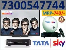 All India Dhamaka Offer Tata Sky New HD Box Free Fire Stick Airtel TV