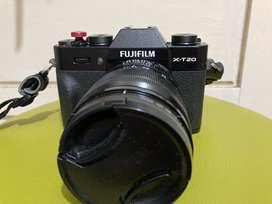 Kamera Fujifilm XT-20 Kit Lensa XF 18-55 mm