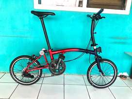 Sepeda element pikes upgrade not 3sixty brompton