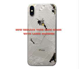 iphone back glass replacement with laser x xr xs xsmax xs max