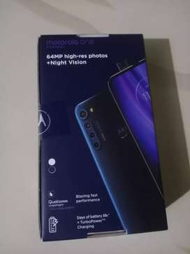 Moto one fusion plus  6/128 gb available..