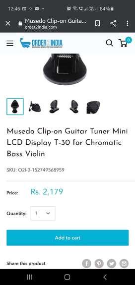 Musedo T-30 Clip Tuner