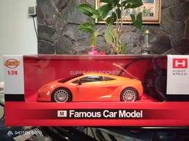 Remote control famous car model baru