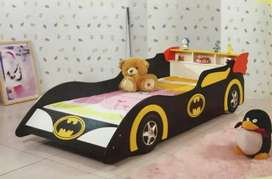 Single themed bed for 1 kid. Batman, Cars, Hello kitty kids furniture
