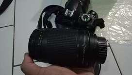 Camera D 3100+lensa telle 70-300