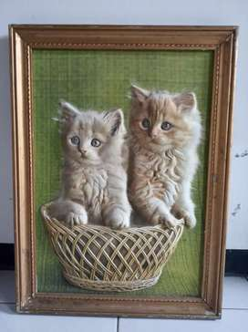Kerajinan Tangan Gambar Obyek Kucing