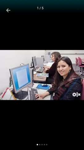 Urgently need only girls to office work full time and home base work