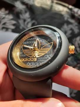 Adidas gold  mens watch