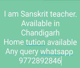 Sanskrit Teacher