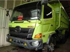Hino Lohan 500 FM 260JD THN 2017 Dump Truck Barang super