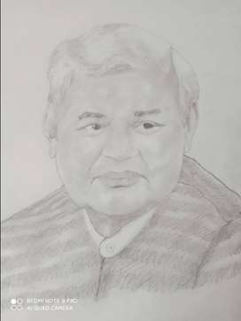 Honourable Atal Bihari Vajpayee Pencil artwork