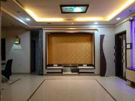 Fully furnished 3 bhk flat for rent in new Panvel.