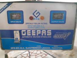 Outstanding Geepas Stabilizer for Fridge and AC and use only 1 season