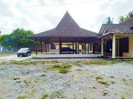 Rumah Joglo Luas 1800 Meter Jalan Samas Bantul