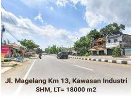 Tanah Caturharjo Cocok Gudang