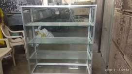 Show case glass