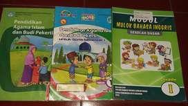 Dijual buku pelajaran kelas 1 SD