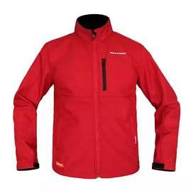 Jaket motor respiro merah bekas