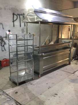 BBQ PIT WITH CANOPY